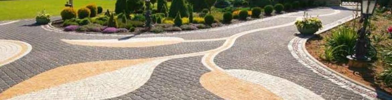 Укладка тротуарной плитки в Ступино, газоны в Ступино