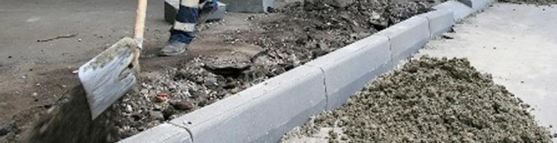 Укладка бордюров в Ступино, земельные работы в Ступино